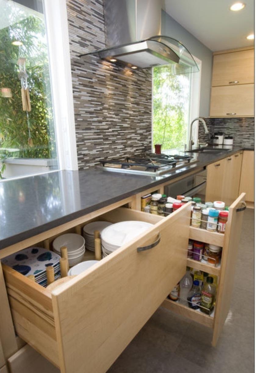 Организация кухонного пространства: 12 компонентов.