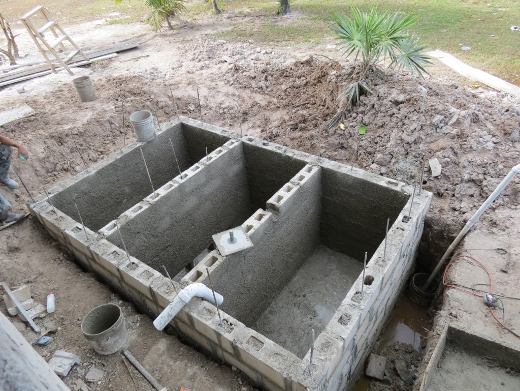Get behind the wheel in ambergris caye belize belize for How to build a septic tank